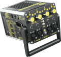 The DT12-4 is a 12-volt control unit that can power up to four 100-watt heads (DLH2P), with each head selectable to a range of outputs and color temperatures, from 3000K to 3400K.