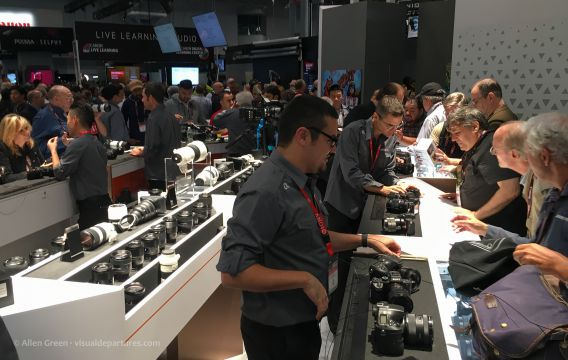 Sony booth at PPE 2016