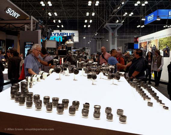 Sony lenses at PPE 2016