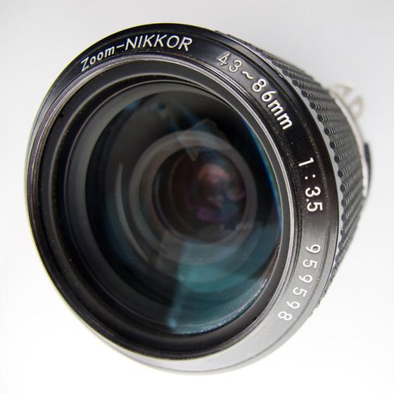 Nikon (Nikkor) 43-86mm zoom lens