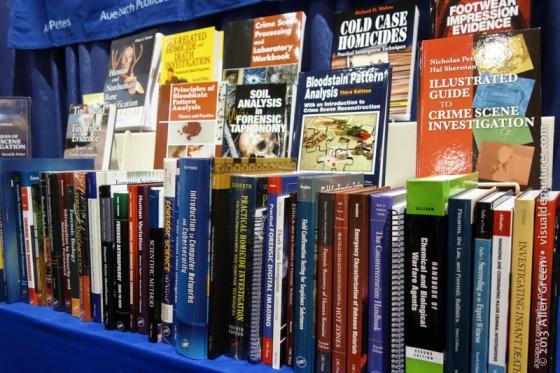 Forensics books of every description