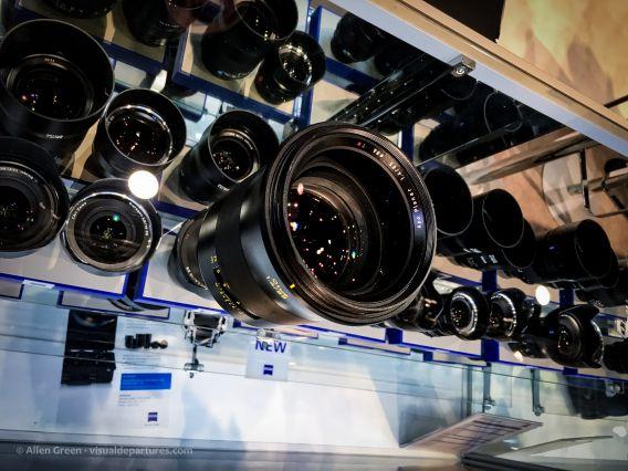Zeiss lenses at NAB 2016